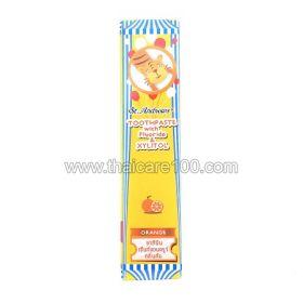 Детская зубная паста St. Andrews с ксилитом с Апельсиновым вкусом