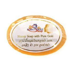 Медовое мыло с пептидами чистого золота K.Brothers Honey Soap with Pure Gold