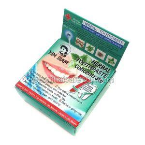 """Отбеливающая зубная паста  Yim Siam """"Улыбка Сиама"""""""