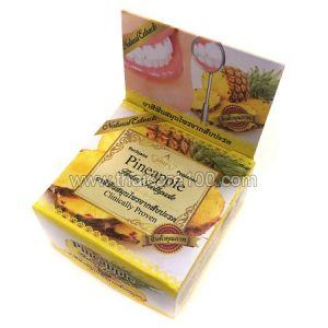 Отбеливающая ананасовая зубная паста Pineapple Herbal toothpaste от Rochjana