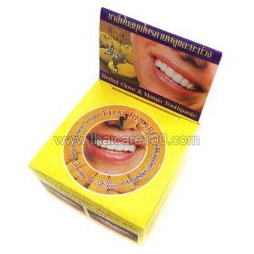 Отбеливающая  паста с манго Thai Kinaree Mango Herbal Toothpaste