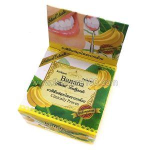 Новинка! Отбеливающая тайская зубнае паста Rochjana с экстрактом спелого банана