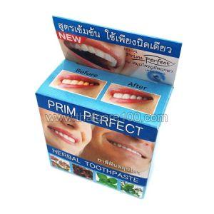 Натуральная отбеливающая зубная паста Prim Perfect Plus