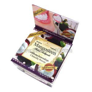 Популярная отбеливающая тайская зубная паста с мангустином Rochjana Mangosteen Toothpaste