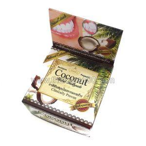 Кокосовая отбеливающая тайская зубная паста Rochjana Coconut Toothpaste
