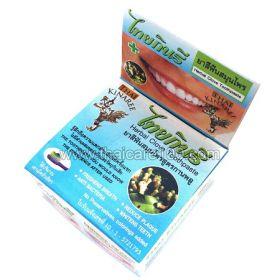 Отбеливающая зубная паста с маслом  Тайских Трав Thai Kinaree