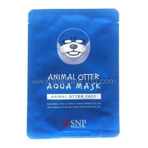 3D маска SNP Animal Mask с мордочкой выдры для глубокого увлажнения кожи
