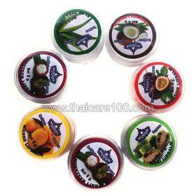 Натуральные фруктовые бальзамы для губ Rochjana в ассортименте