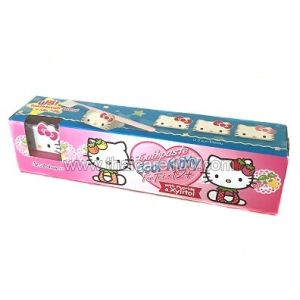 Детская зубная паста St.Andrews Hello kitty English sensation в комплекте с магнитиком-котенком Китти