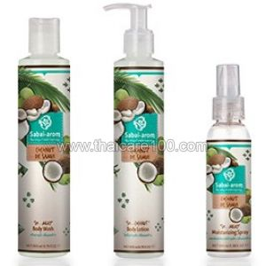 Крем  для душа Sabai Arom Coconut De Samui Body Wash