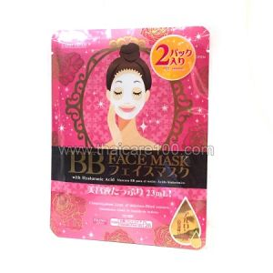 Маска для лица с гиалуроновой кислотой BB Facial Mask Japan Daiso (2 шт)