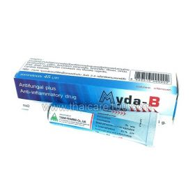 Antibacterial ointment Myda-B for the treatment of eczema, fungus and boils