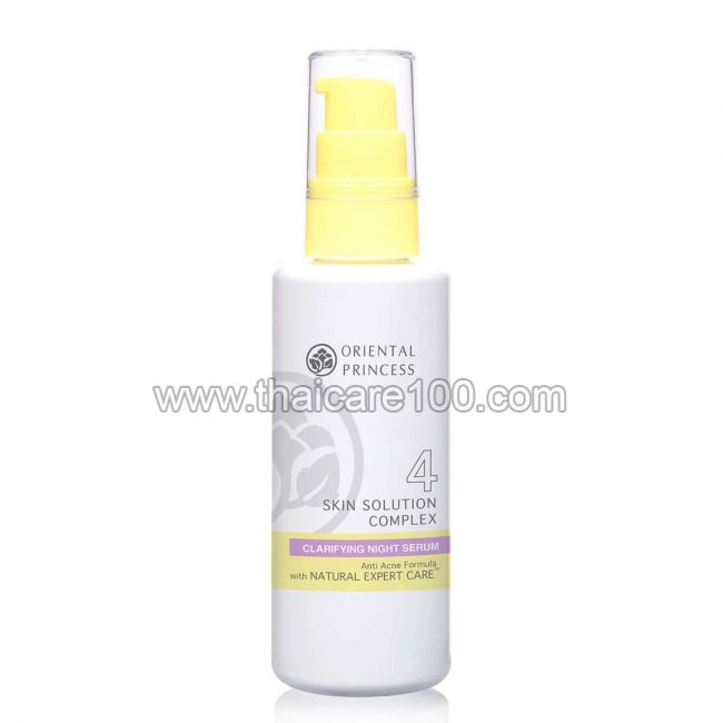 Ночная сыворотка от акне Skin Solution Complex Anti Acne Clarifying Night Serum Oriental Princess