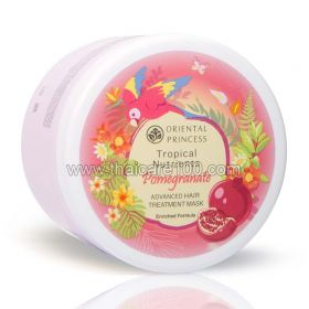 Pomegranate mask for dry and dull hair Tropical Nutrients Pomegranate Hair Treatment Mask