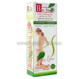 Slimming lotion with green tea and pepper Be-Fit