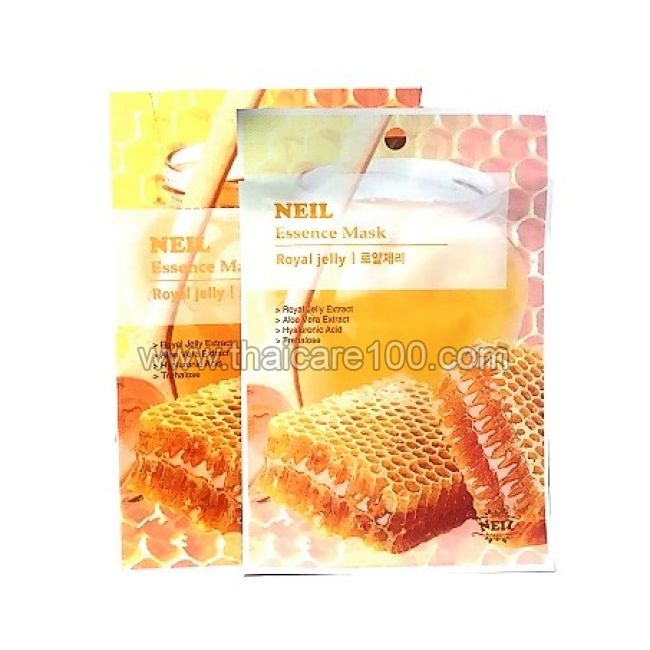 Медовая тканевая маска Neil Essence Mask Royal Jelly