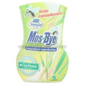 Room fragrance with Lemongrass from mosquitoes and midges Sawaday Mos-Bye