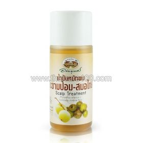 Natural healing oil for the care of the scalp on the basis of an extract Emboliki