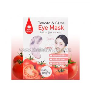 Маска для глаз с ликопином Baby Bright Tomato&Gluta Eye Mask