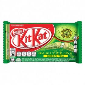 Waffles with green tea Kitkat Wafer Green tea