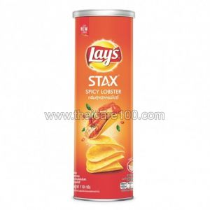 "Чипсы Лэйс ""Лобстер Чили"" Crispy Lays Stack'S Spicy Lobster Flavour (110 гр)"