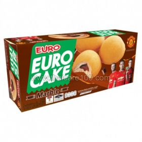 Biscuit cakes with chocolate cream EURO Brand Puff Choco Cake (6 pcs)