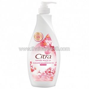 Лосьона для тела с сакурой Citra Body Lotion Sakura White UV (400 мл)