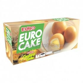Biscuit cakes with custard EURO Brand Puff Cake (6 pcs)