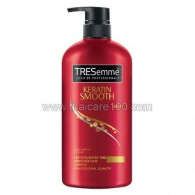 Shampoo with keratin TRESemmé Keratin Smooth Shampoo (Red) (480 ml)