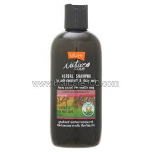Шампунь против перхоти Lolane Nature Code Herbal Shampoo for Anti-Dandruff & Itchy Scalp