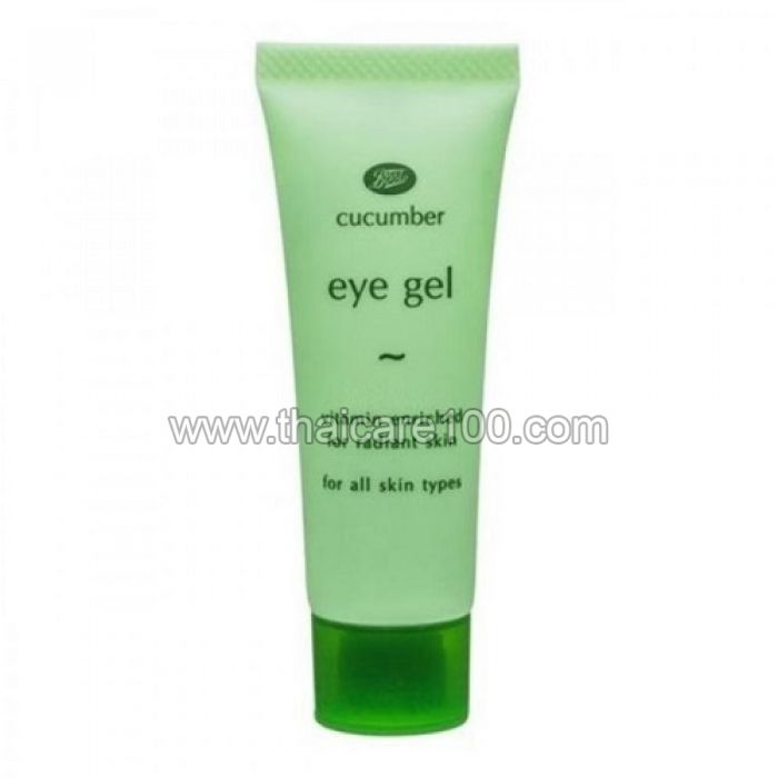 Gel for the skin around the eyes against swelling with cucumber Boots Cucumber Eye Gel