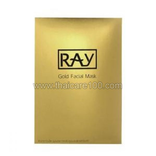 Маска с экстрактом золота RAY Facial Mask Gold