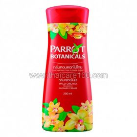 Гель для душа с ароматом дикой орхидеи Parrot Shower Cream Wild Orchid (200 мл)