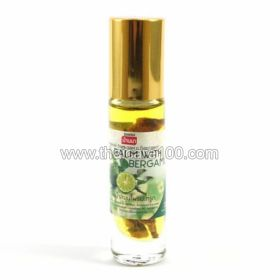 Inhaler with Bergamot oil