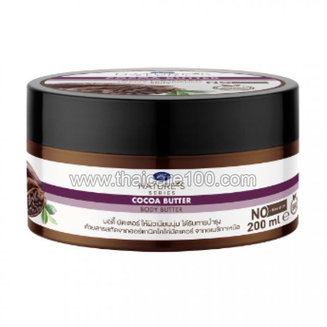 Крем-масло для тела с маслом какао Boots Nature's Series Cocoa Butter Body