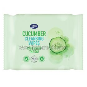 Boots Cucumber Cleansing Wipes Cucumber Makeup Remover Cleansing Wipes