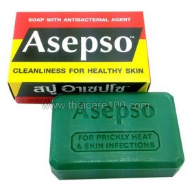 Asepso Soap Antibacterial Antiseptic Soap Protection Against Viruses