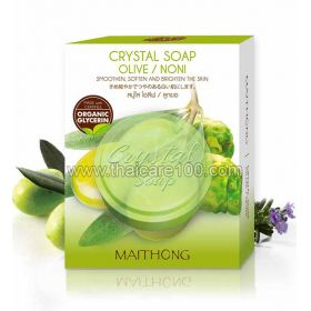 Crystal Facial Soap with extract of Noni and olive oil Crystal Soap Olive / Noni