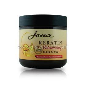 Mask with keratin to increase the volume of Jena Keratin Hair Mask