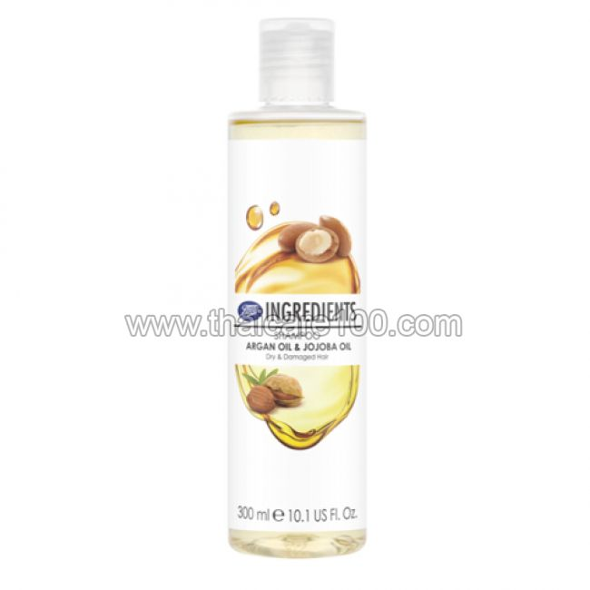 Шампунь с маслом арганы и жожоба Boots Ingredients Shampoo Argan Oil & Jojoba Oil
