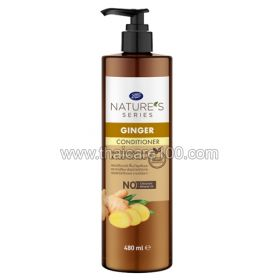 Air conditioning with ginger and sesame Boots Ginger&sesame oil conditioner