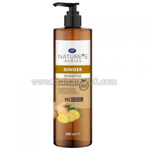 Шампунь Boots Ginger&Sesame Оil Shampoo для ускорения роста волос