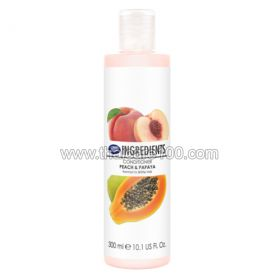 Conditioner Boots Ingredients Conditioner Peach & Papaya with peach and papaya extracts
