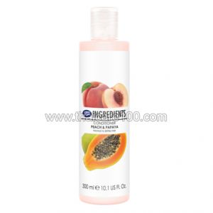 Кондиционер Boots Ingredients Conditioner Peach & Papaya с экстрактами персика и папайи