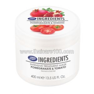 Лечебная маска Boots Intensive Treatment Mask Pomegranate & Tomato с гранатом и томатом