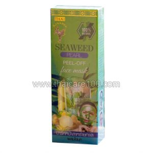 Маска-пилинг Thai Kinaree Seaweed Pearl Peel-off Face Mask с водорослями и жемчугом