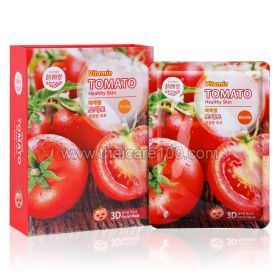 Tomato fabric mask with lycopene, vitamins and minerals East-Skin