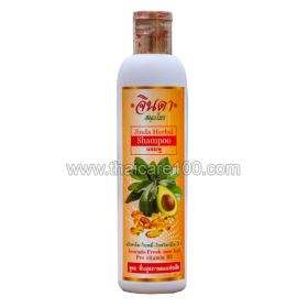Avocado shampoo with provitamin B5 Jinda Avocado Herbal Shampoo