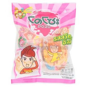 Rice crackers DOZO with cartoon characters