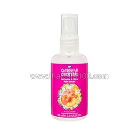 "Serum for hair ""Sexual shine"" with nectarine and olive Caribbean Cocktail"